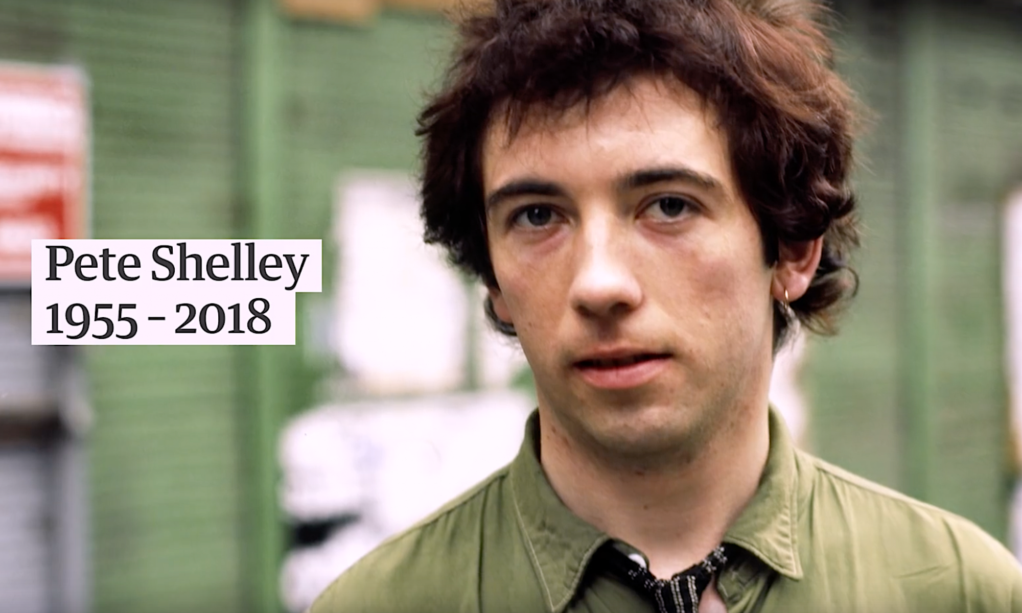 Pete Shelley verstorben